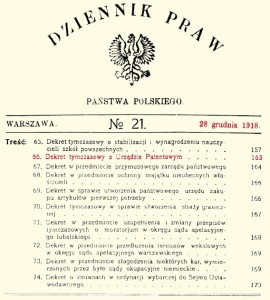 Patent Office: the first Polish registered trademark