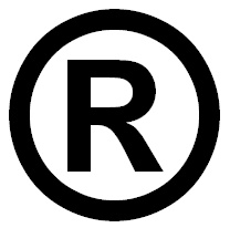 Illegal Use Of The R In A Circle Sign